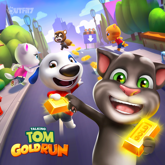 Run After The Robber And Build Your Dream Home In Our Amazing New Game Xo Talking Angela Talkingangela Talking Tom English Stories For Kids My Talking Tom