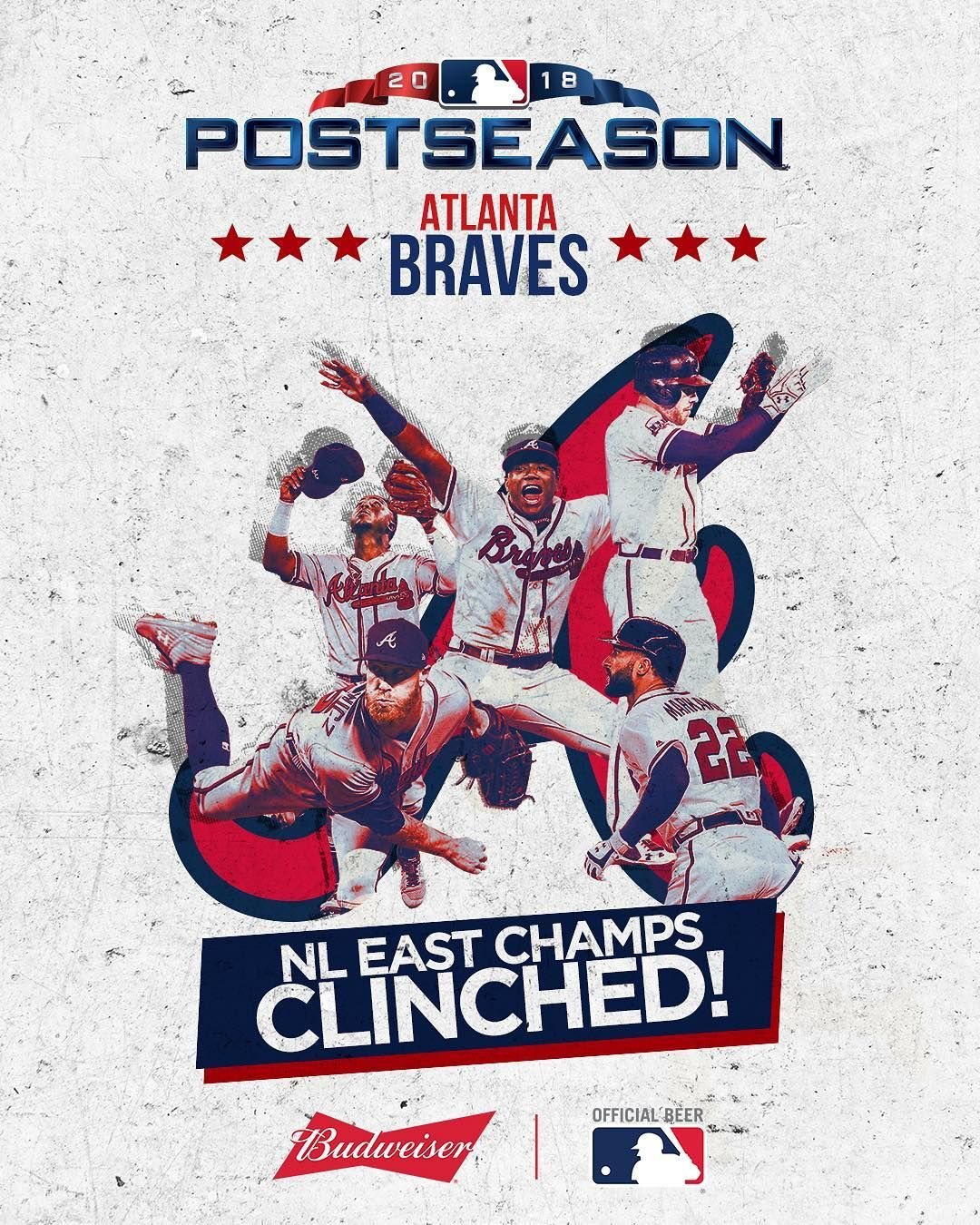 Nl East Youve Been Chopped The Braves Have Clinched The Division Atlanta Braves Baseball Atlanta Braves Braves