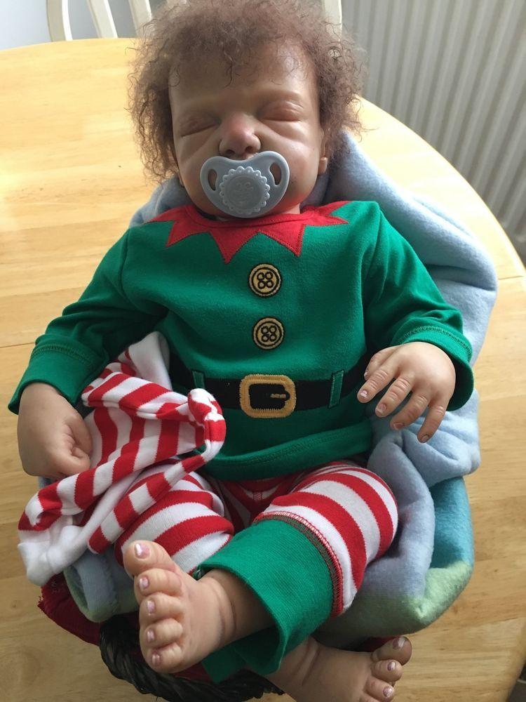 Realistic Reborn Baby Boy Finn 4lb 3oz   eBay
