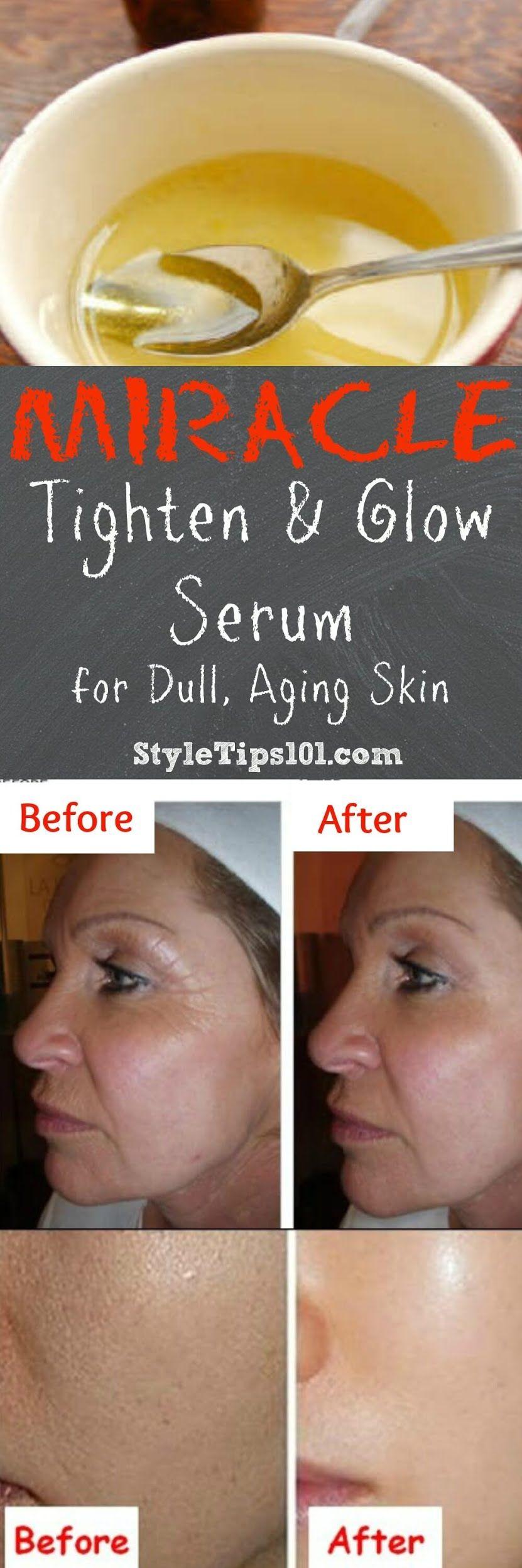 DIY Wrinkle Serum With Vitamin E Diy wrinkles, Wrinkle