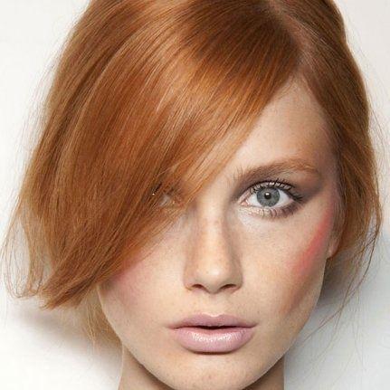Couleur de cheveux roux clair