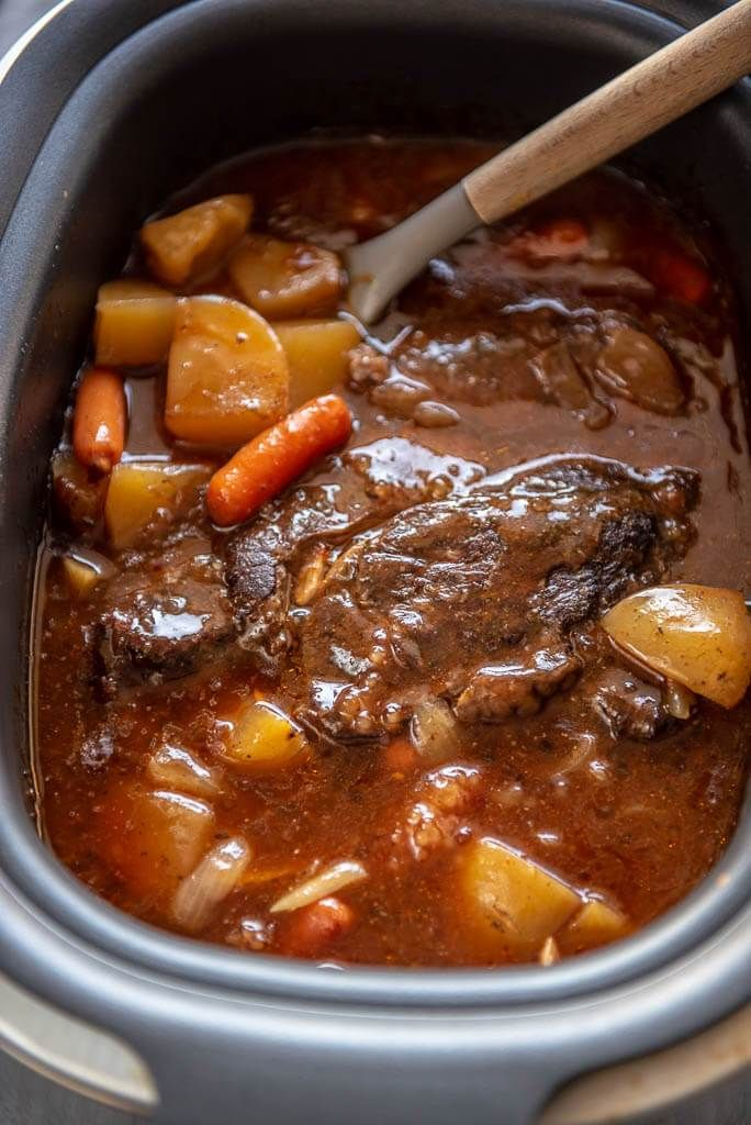 Slow Cooker Pot Roast with Gravy - Cookware and Recipes
