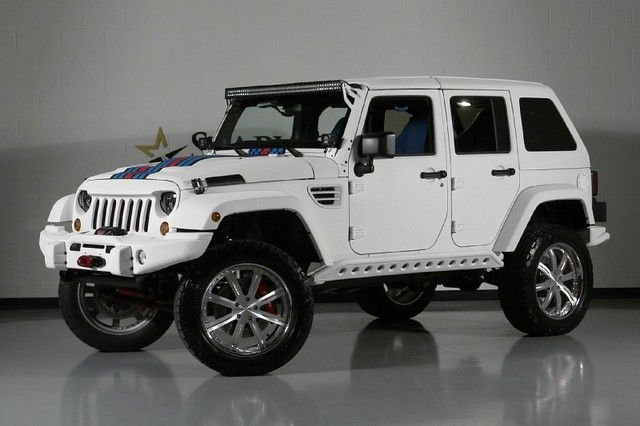 125k Jeep Wrangler Unlimited Martini Hemi Edition Would You