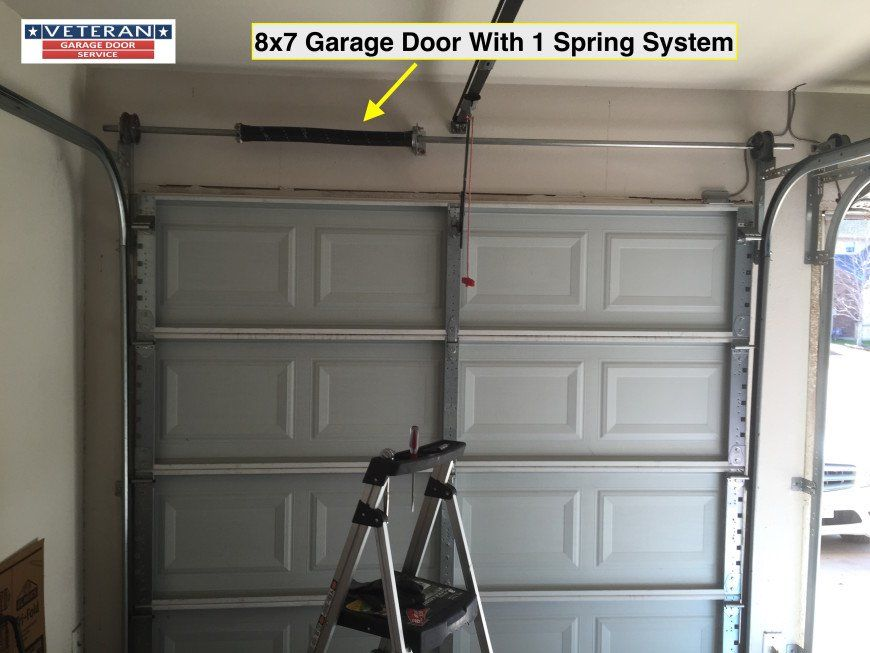 Torsion Vs Tension Springs What S The Difference Garage Door Extension Springs Garage Doors Craftsman Garage Door