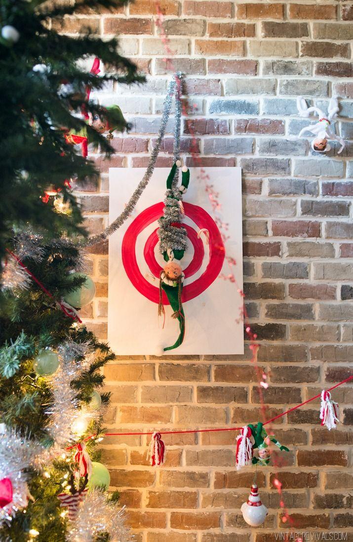 Mischievous Elf Mayhem Christmas Tree   Elves, Christmas tree and Xmas