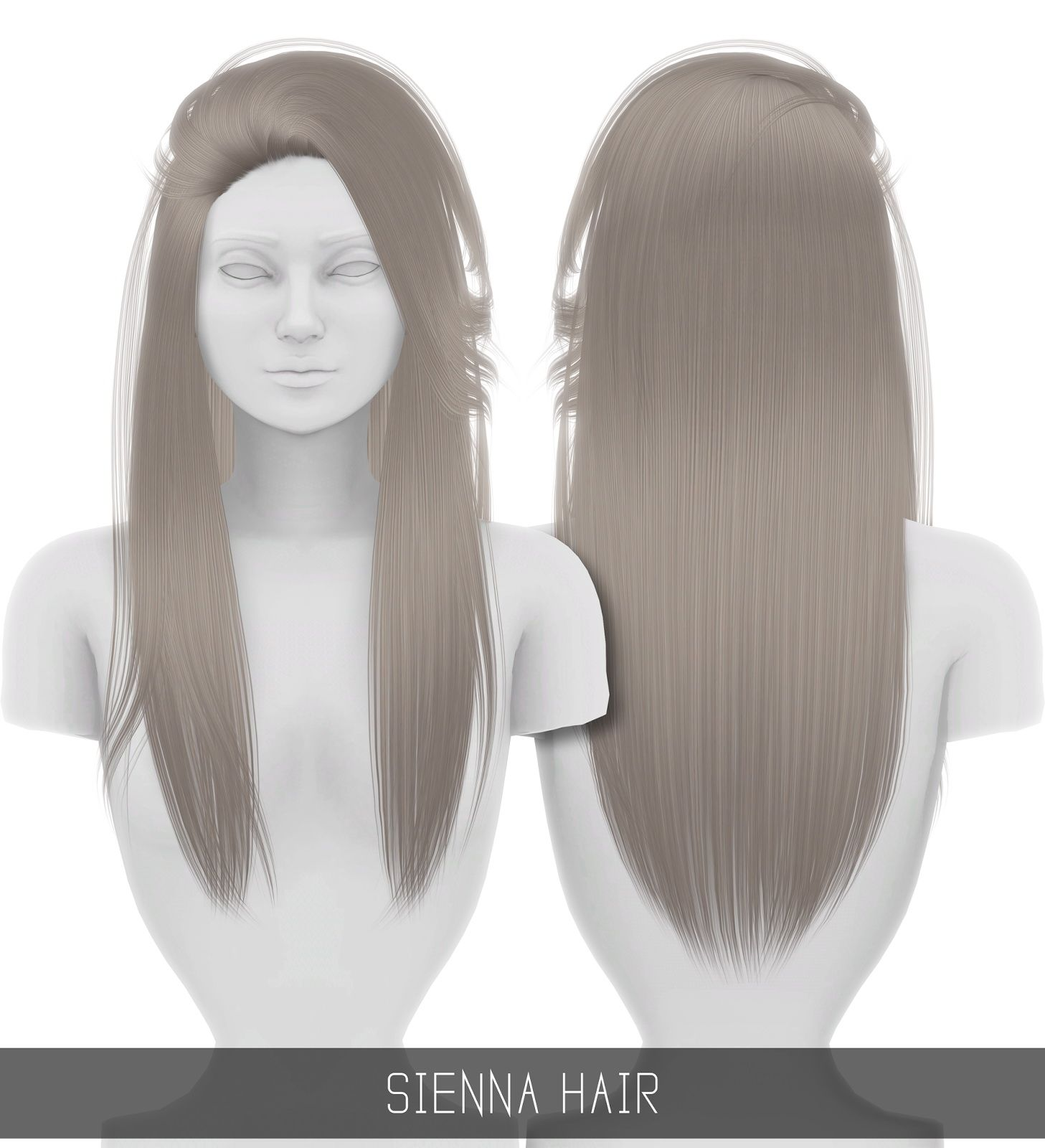 Simpliciaty Sienna hair Pinterest