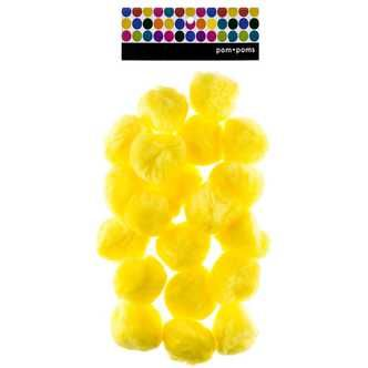 Pack of 50 Colorations LGPOMS Jumbo 2 Pom-Poms