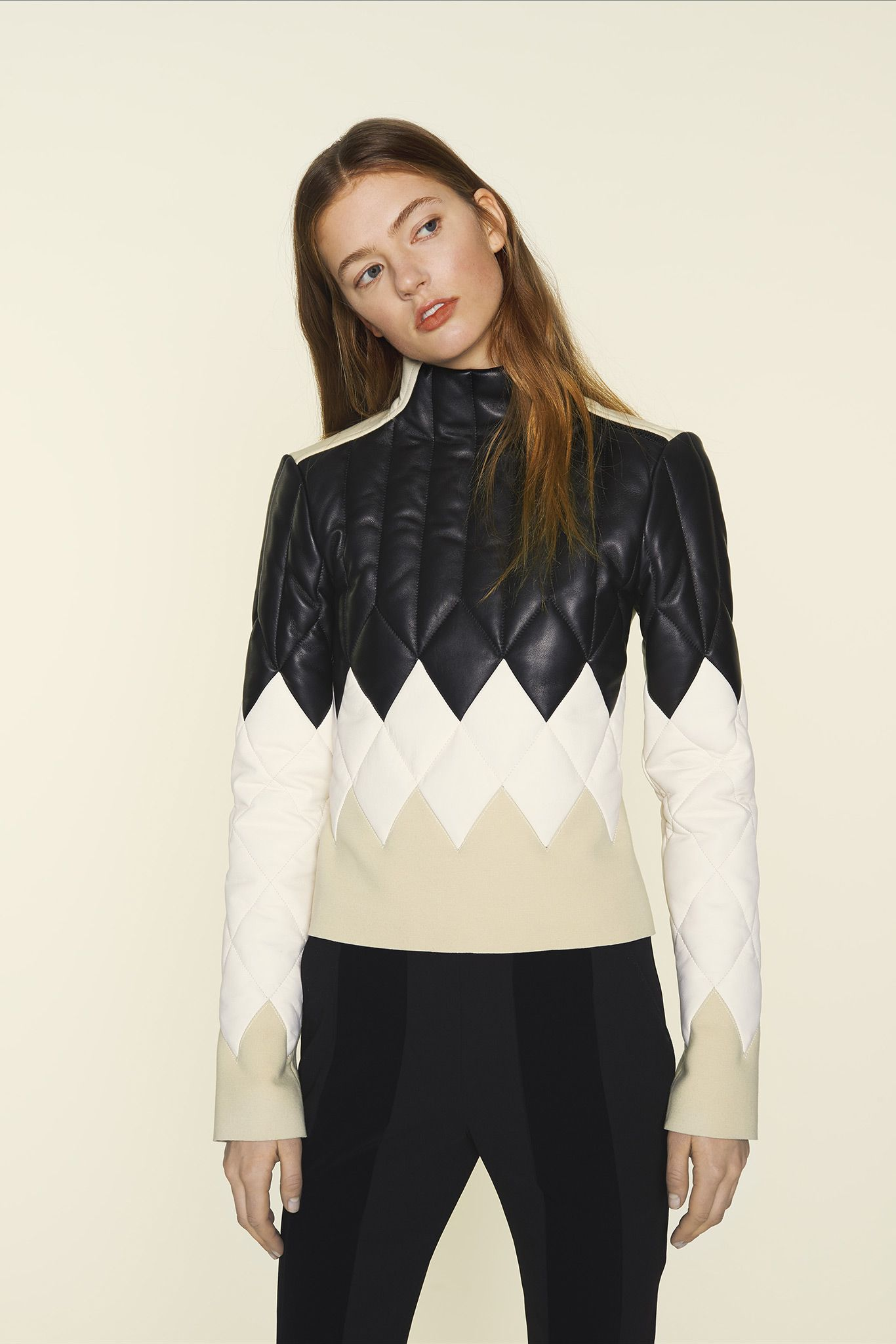 Paco Rabanne Pre-Fall 2015 - Collection - Gallery - Style.com Love the simple color way and quilted effect
