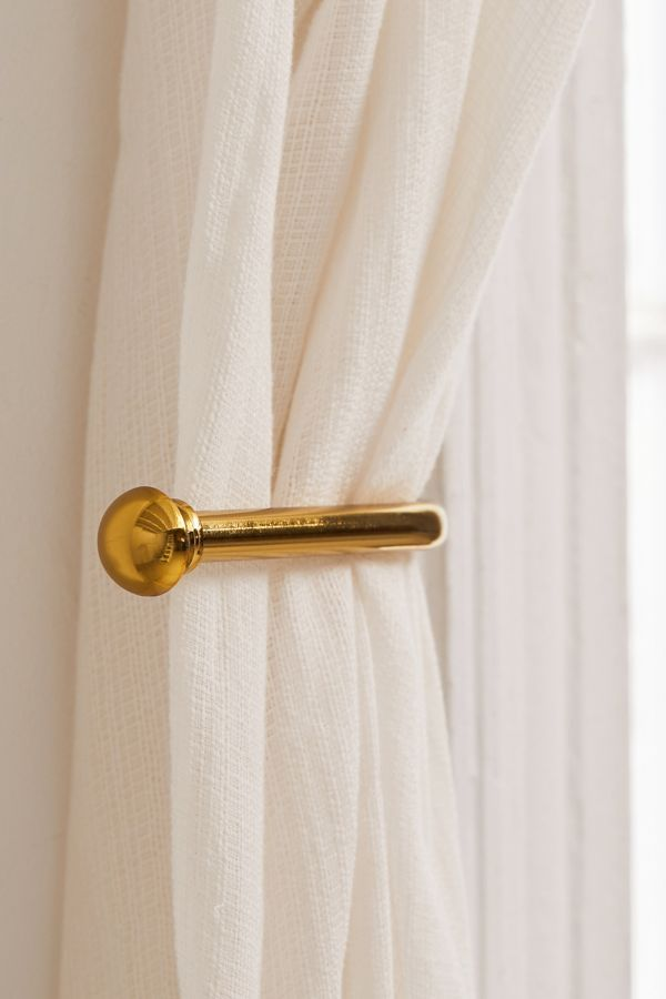 Basic Metal Tie Back Set Of 2 Tie Backs Curtain Tie Backs
