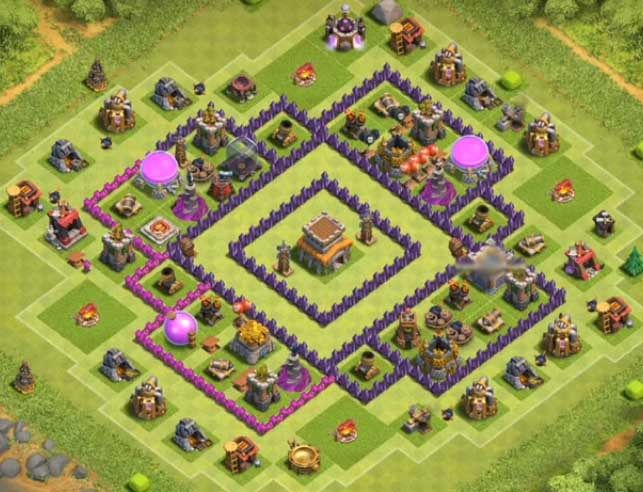 12 Best Th8 Defense Base 2020 New Clash Of Clans Hack Trophy Base Clash Of Clans Free