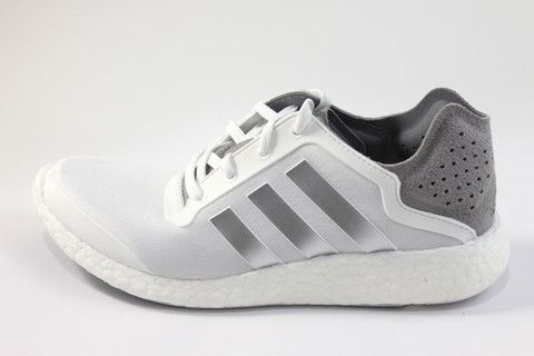 adidas pure boost white silver