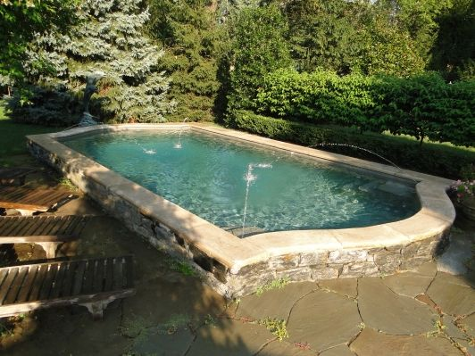Plunge pool home and garden design ideas outdoor for Garden plunge pool