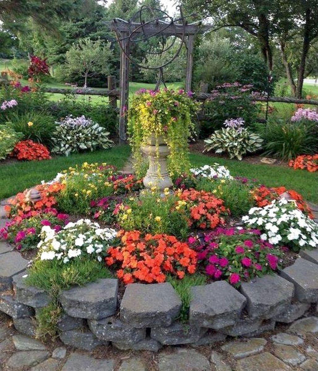 Beautiful Flower Garden Design Ideas Frugal Living Small Flower Gardens Garden Landscape Design Beautiful Flowers Garden