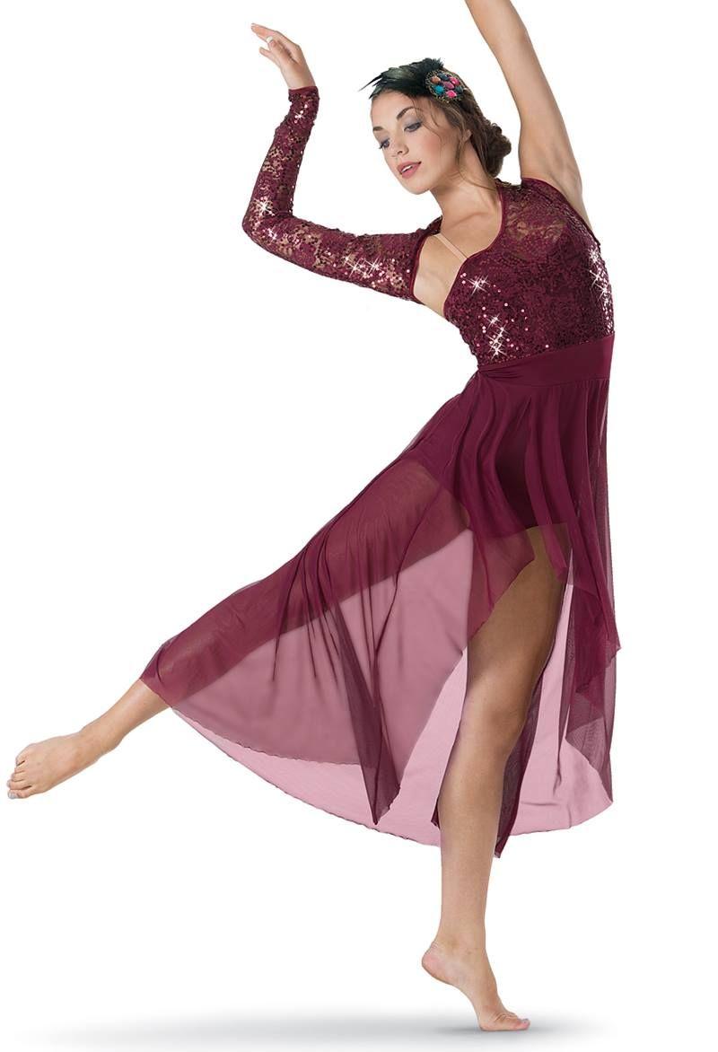 Asymmetrical Sequin Lace Mesh Maxi Dress  2f9ce230b