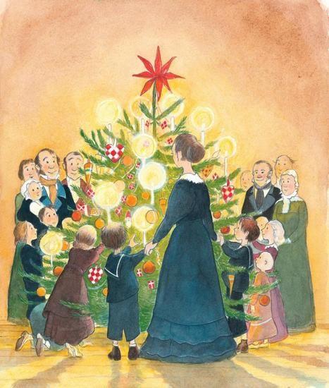 Danish Christmas Trees: A Polar Bear's Tale Vintage Christmas