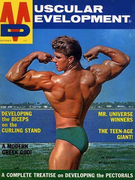 Muscle Beach History - by Stuntmovie covers magazine bodybuilding