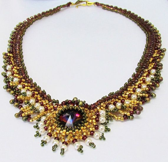 OOAK FERIGA Fringed Necklace