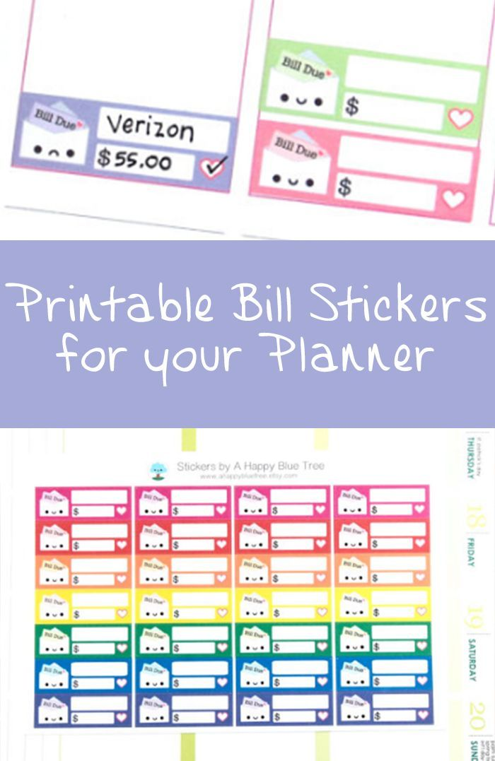 Adorable stickers for your planner, I\u0027m going to use these at least