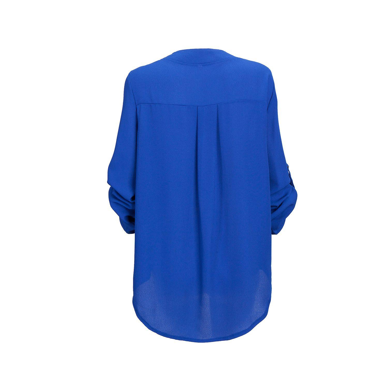 fe1d2c5104c 2017 Big Yard Tops Women V-neck Chiffon Blouses 3 4 Sleeve Female Shirt  Fashion Large Size Plus Size Feminina Camisas Blusas free shipping worldwide