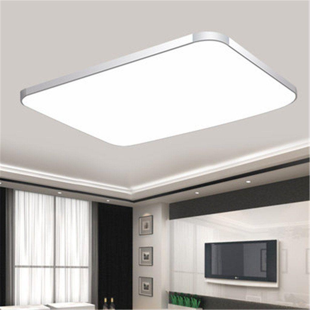 Dimmbar LED Deckenleuchte Deckenlampe wohnzimmer Küchen Leuchte IP44 ...