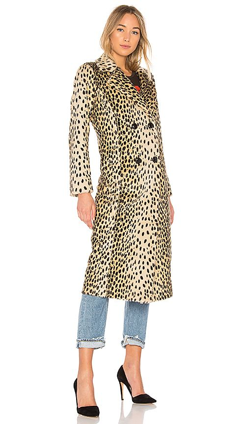 280415c42fed x REVOLVE Perry Faux Fur Coat in Leopard | LUST list | Faux fur ...