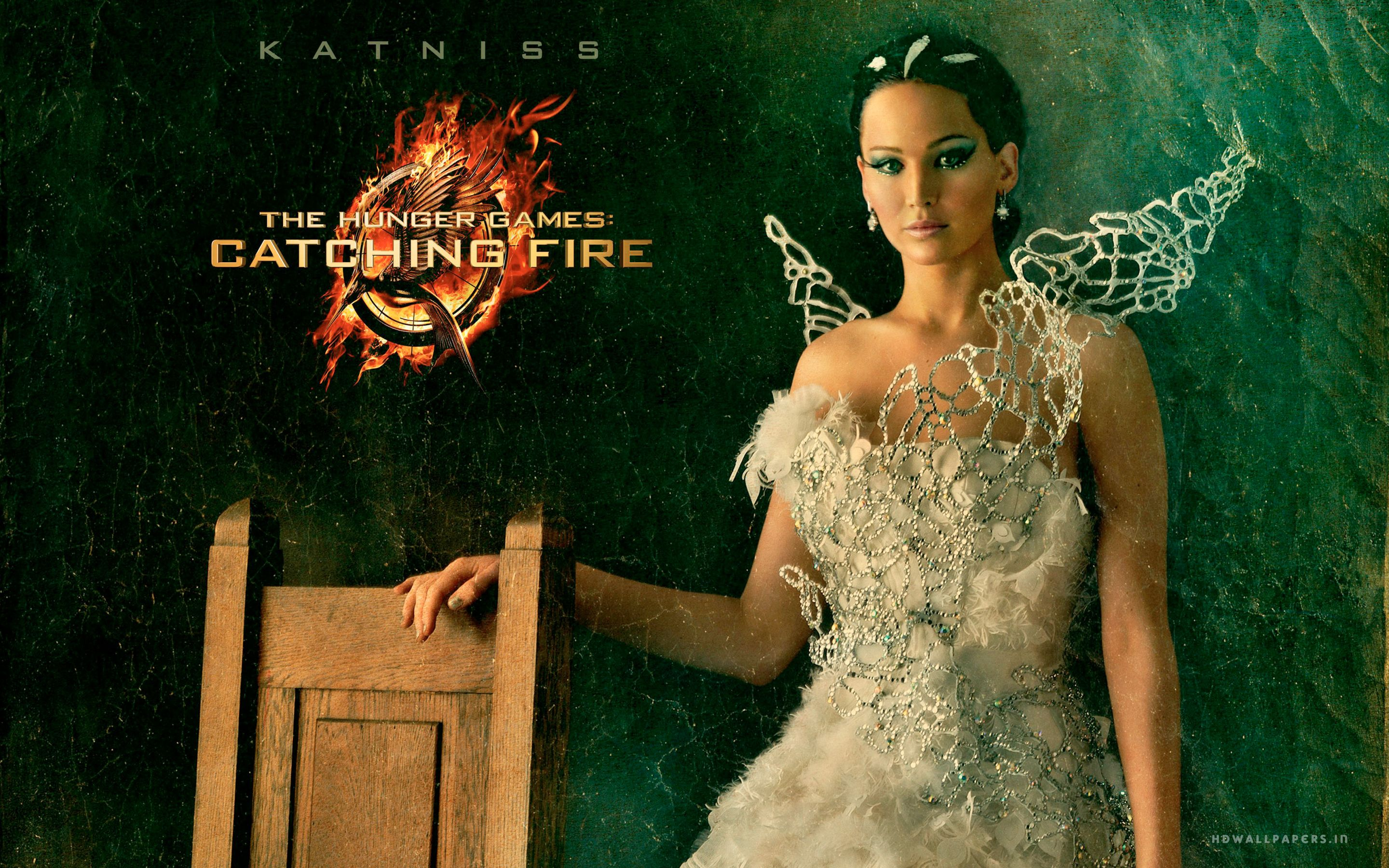 The hunger games catching fire katniss wedding dress designer - Hunger Games Computer Wallpaper Katniss Hunger Games Catching Fire Wallpaper Hd Wallcapture Com