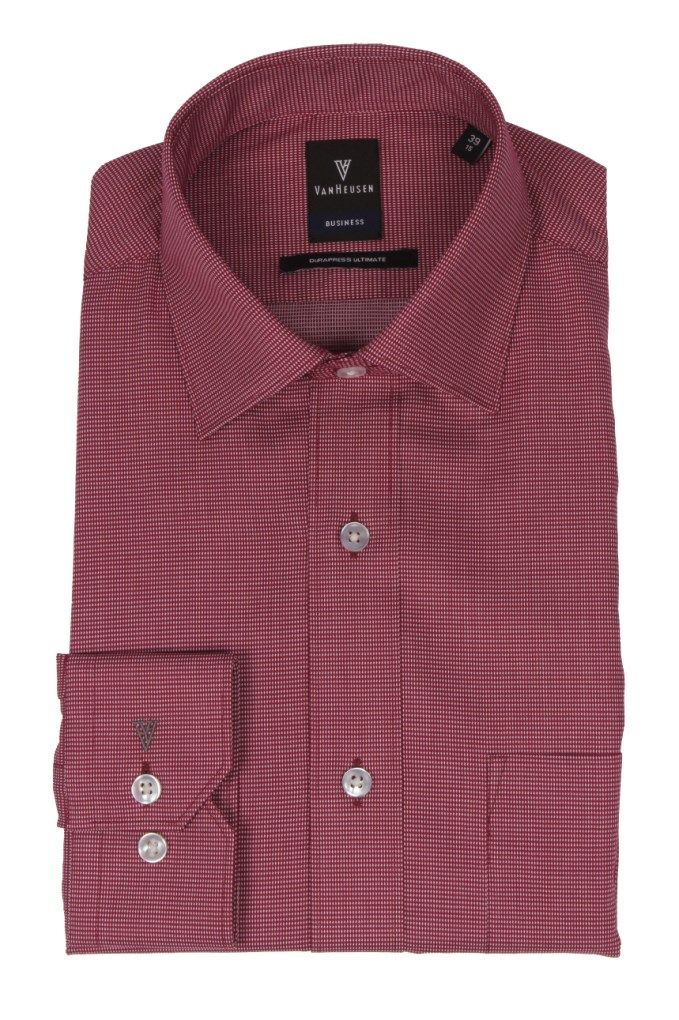 1aa7f82d9f2 Van Heusen  Red Formal  Shirt for Mens Buy at Best Price Rs.1999 - Online  in India