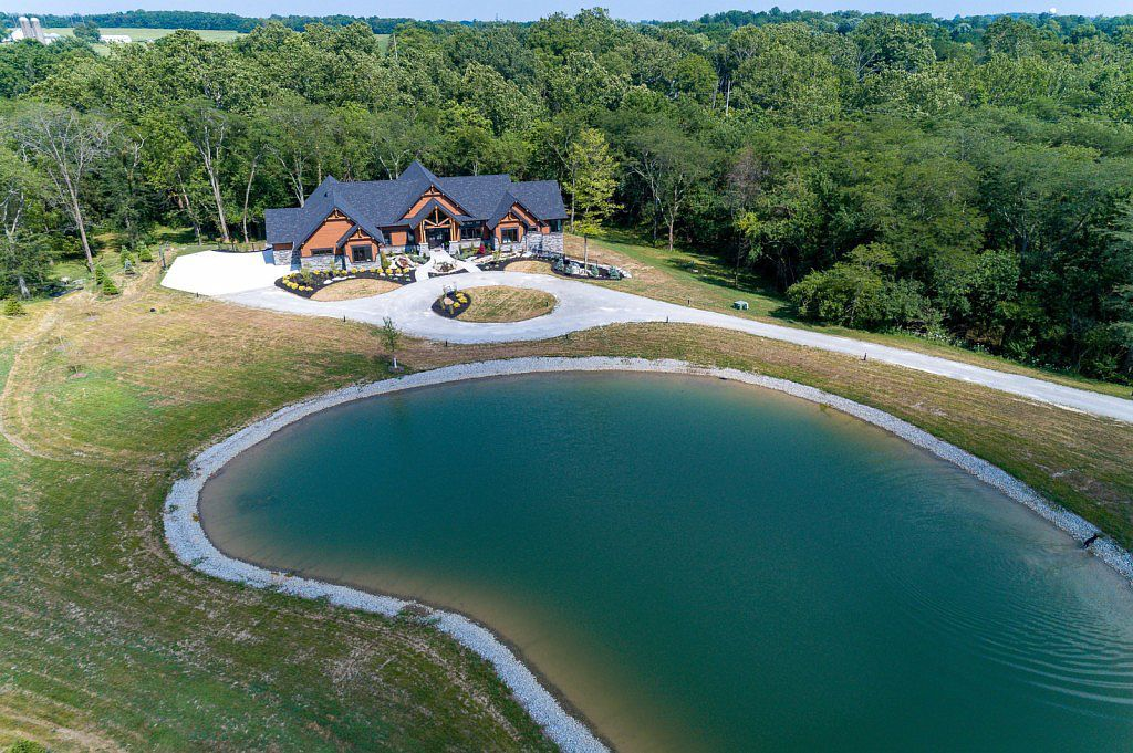 3601 Lefevre Rd Troy Oh 45373 Mls 796264 Zillow With Images Custom Homes Acre Pond