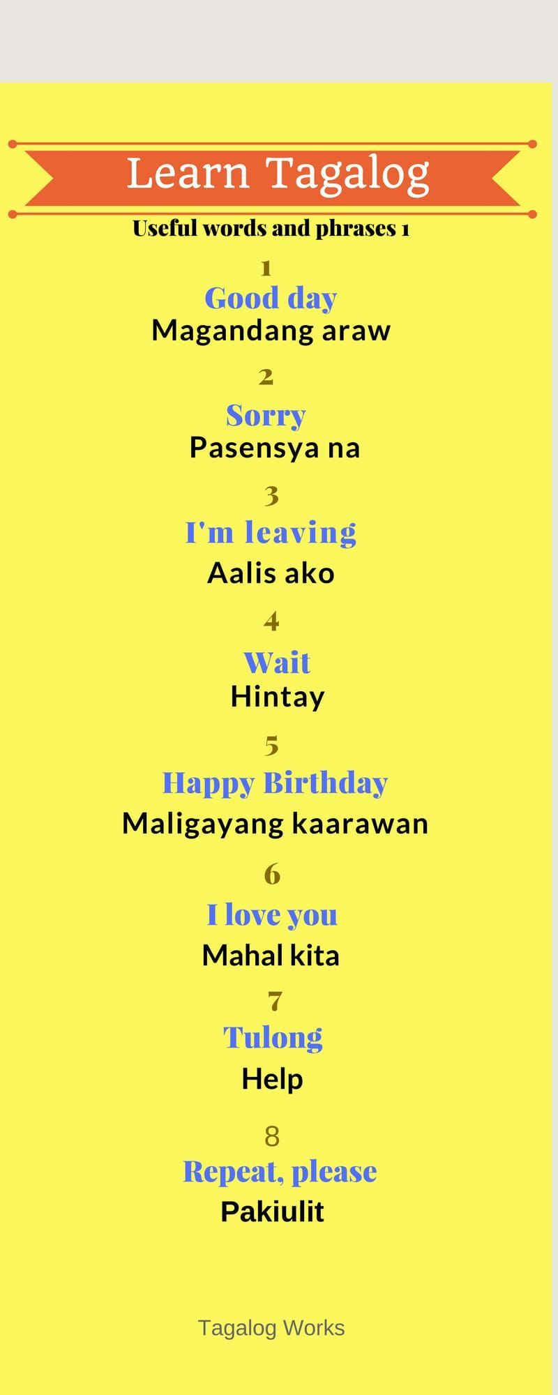 Learn A New Word Everyday Tagalog Words Travel Quotes Filipino Words