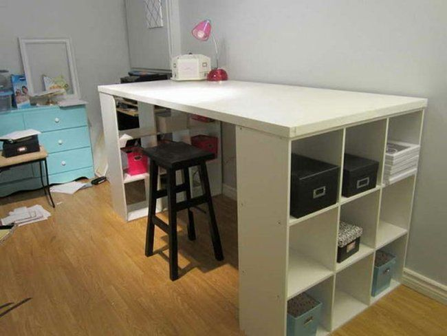 Http Www Iraidaconstruction Com Wp Content Uploads 2014 09 Craft Table With Storage Ikea Jpg Craft Tables With Storage Ikea Crafts Craft Table Ikea