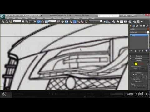 3ds max tutorial car modelling audi r8 3d blueprint youtube 3ds max tutorial car modelling audi r8 3d blueprint youtube malvernweather Images