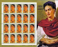USA stamps with Frida Kahlo - Google-søgning