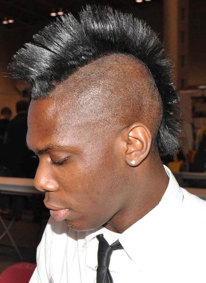 Awesome Short Mohawk Hairstyles For Black Men