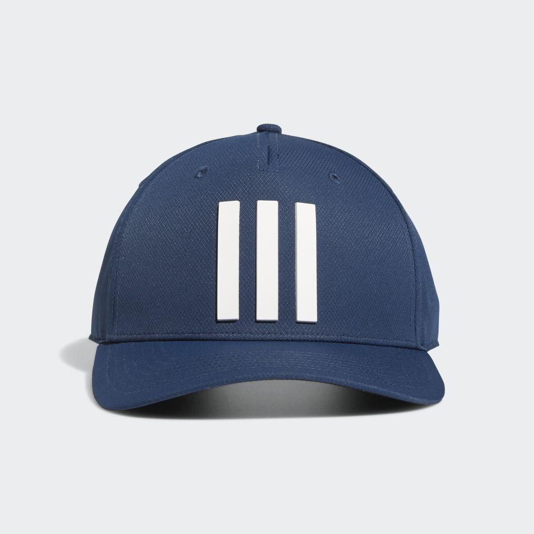 Adidas Golf 3 Stripes Tour Hat Blue Adidas Us In 2021 Hats Golf Hats Golf Headwear