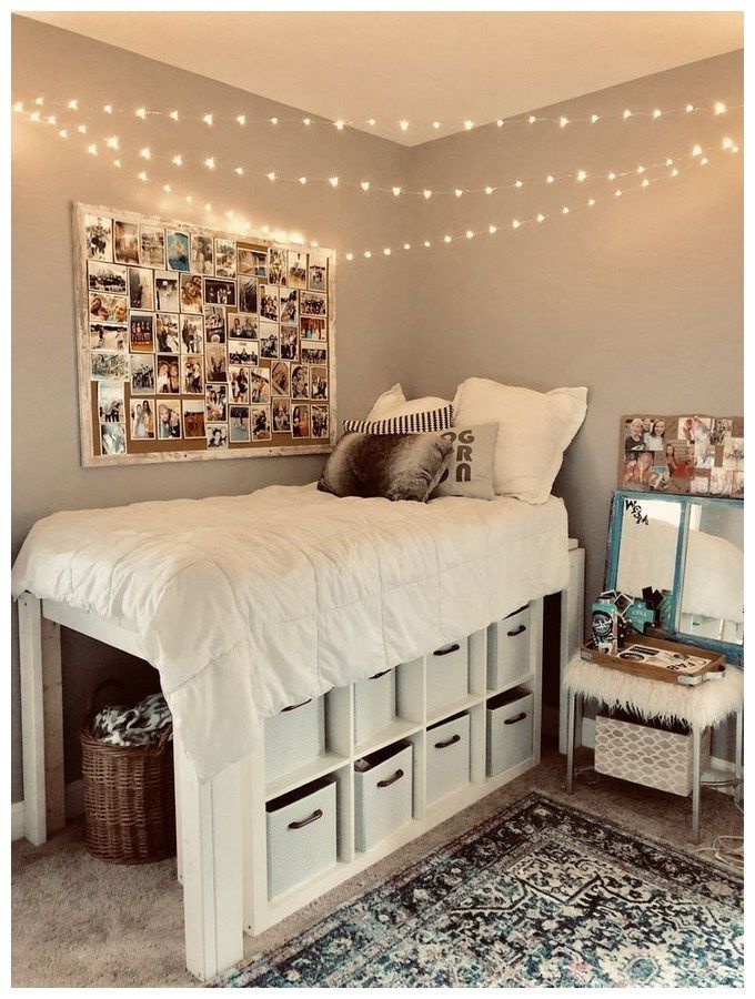 Small Dorm Room Ideas: 60 Diy Decor Ideas For Your Dorm Or Small Spaces 21 In