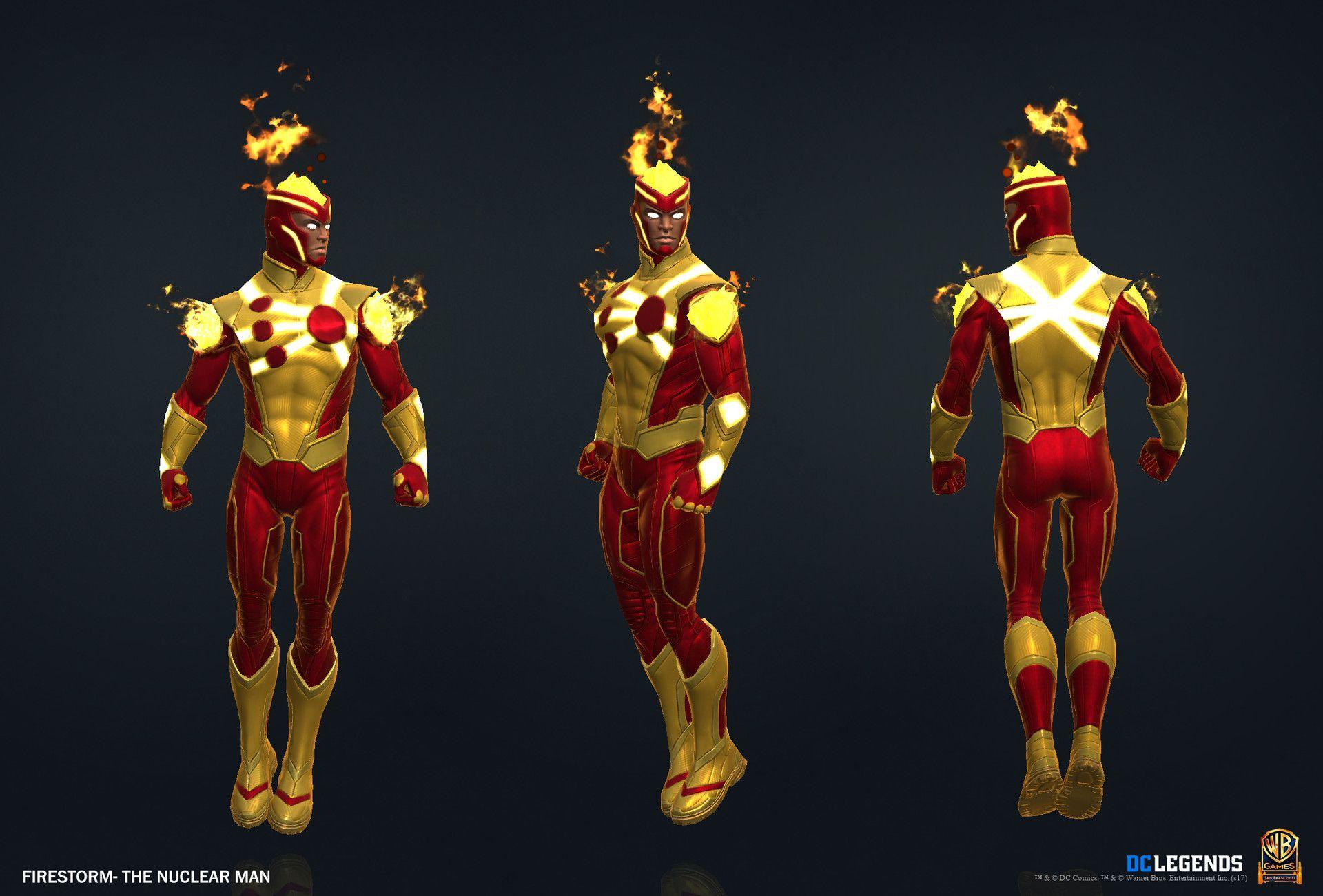 ArtStation DC Legends Character Art Dump, Roland Herran