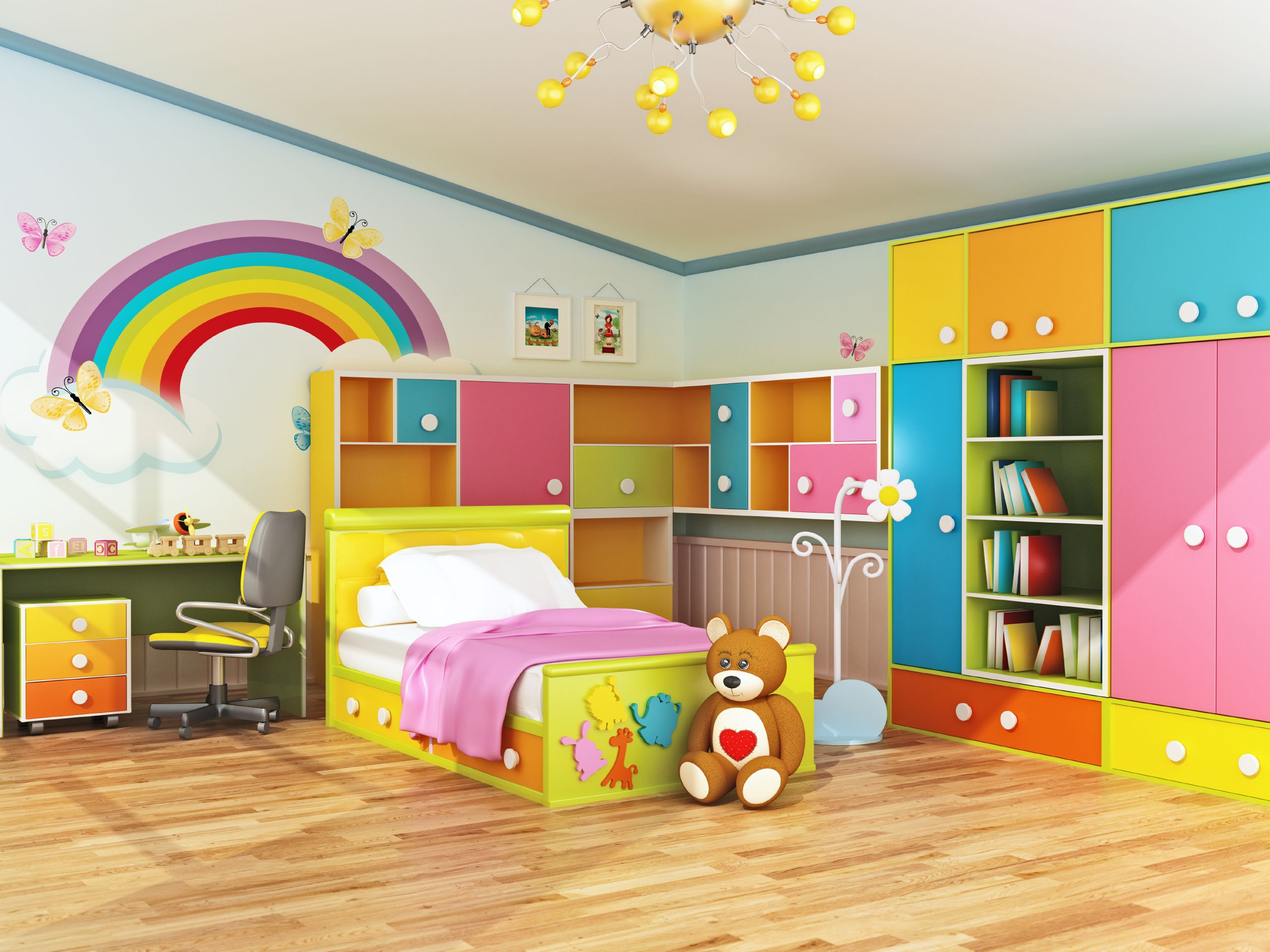Plan Ahead When Decorating Kids Bedrooms With Images Cool