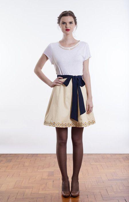 Blusa Annie {Branca} - Carolina Ancasy