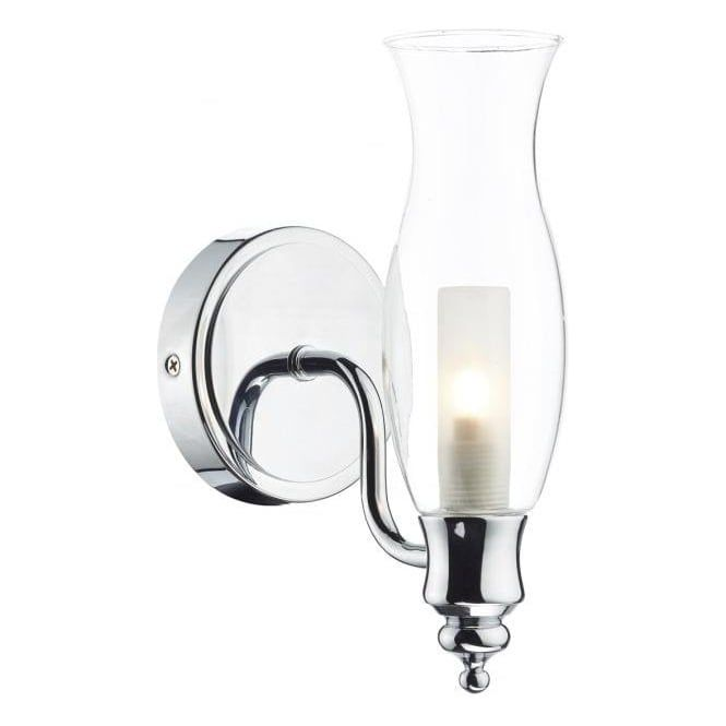 The Vestry Traditional Bathroom Wall Light Is Designed To Replicate Old Fashioned Oil Lamp