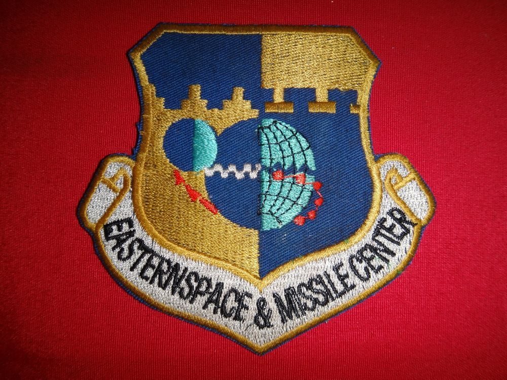 US Air Force EASTERN SPACE & MISSILE CENTER Patch