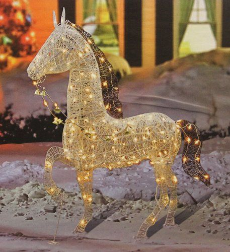 Lighted Christmas Lawn Decorations