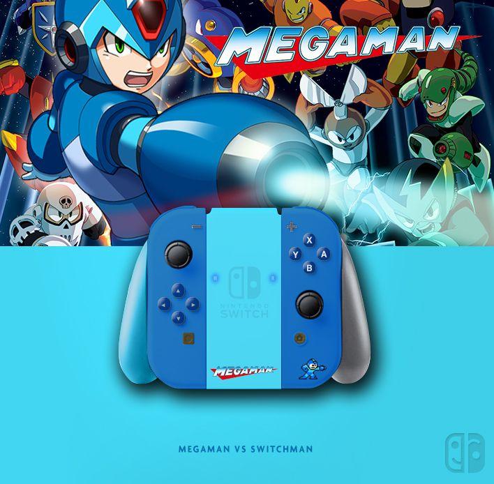 Joy Con Megaman (Rockman)  If U like it, follow me on Twitter
