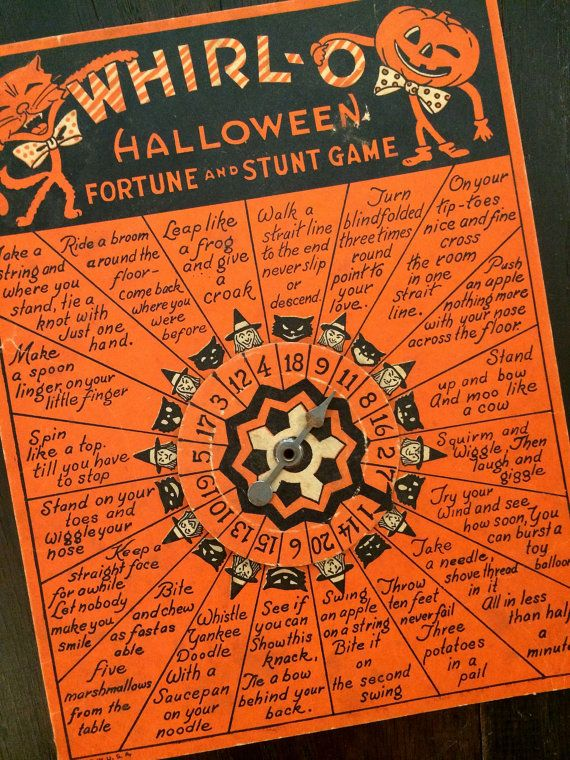 games to play at a halloween party for adults halloween halloween vintage halloween and. Black Bedroom Furniture Sets. Home Design Ideas