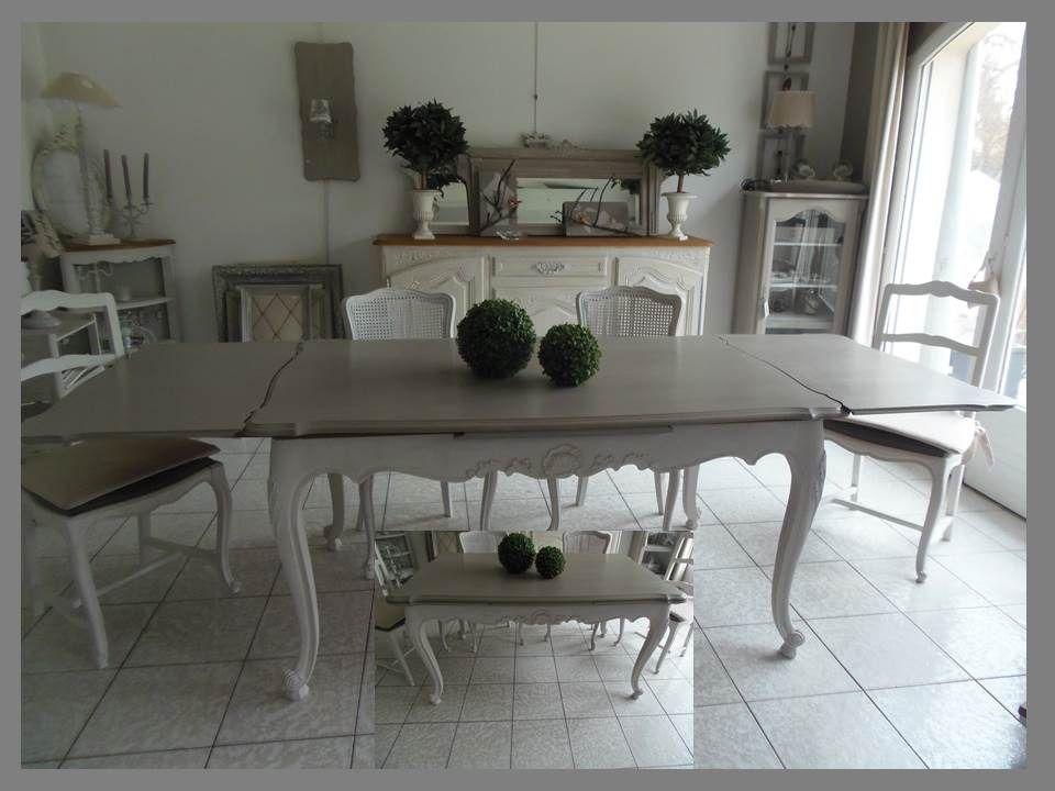Table en merisier atelierdes4saisons avec 2 rallonges 2x50 - Salle manger scandinave un decor elegant et pratique ...