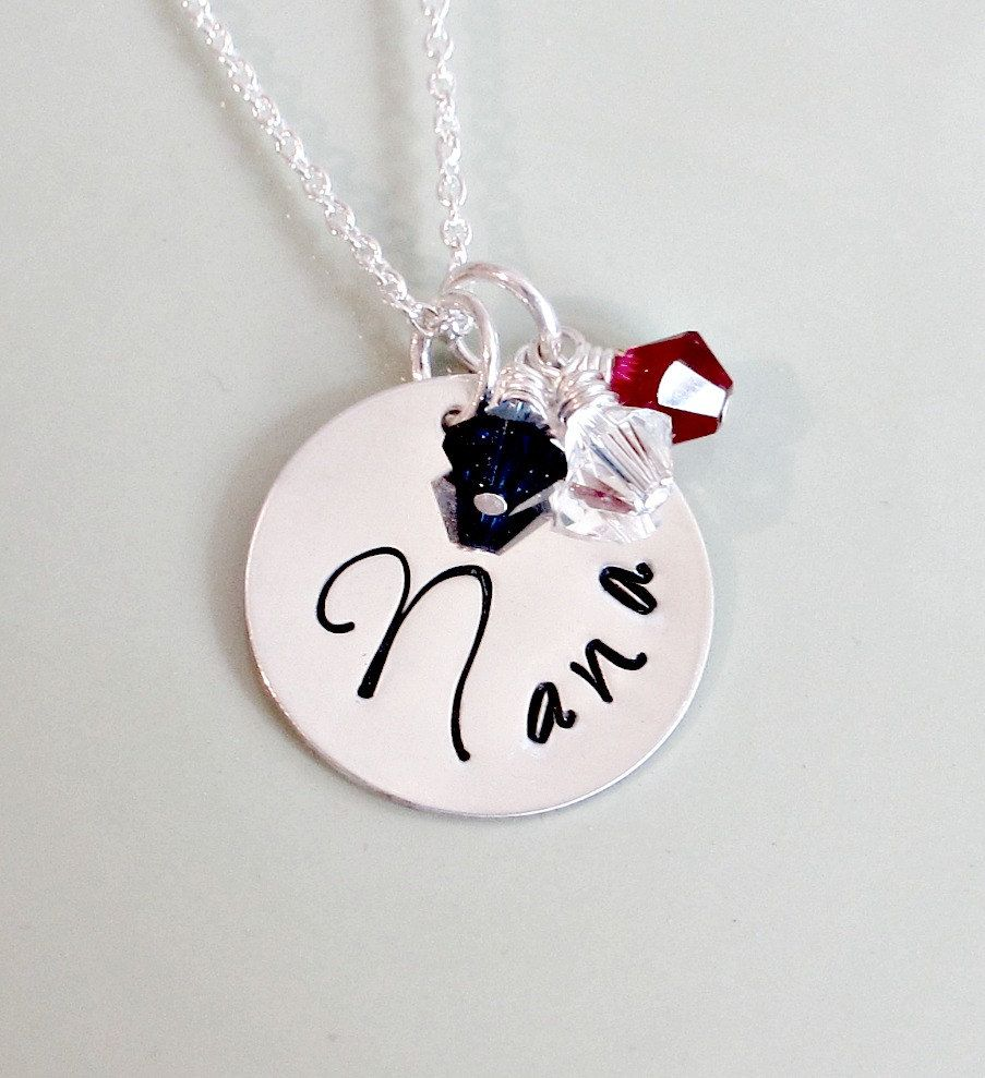 s to with stones nana mother utse necklace sj pendants quot infinity pendant