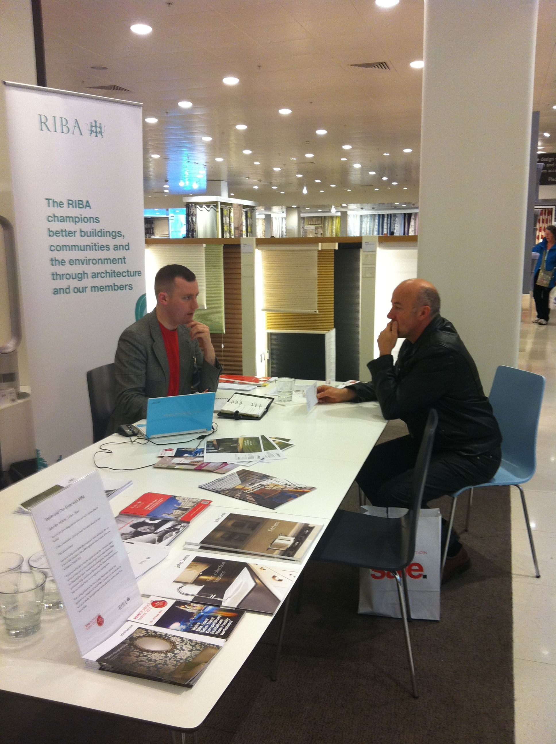 riba north west and john lewis liverpool ran an inside and out