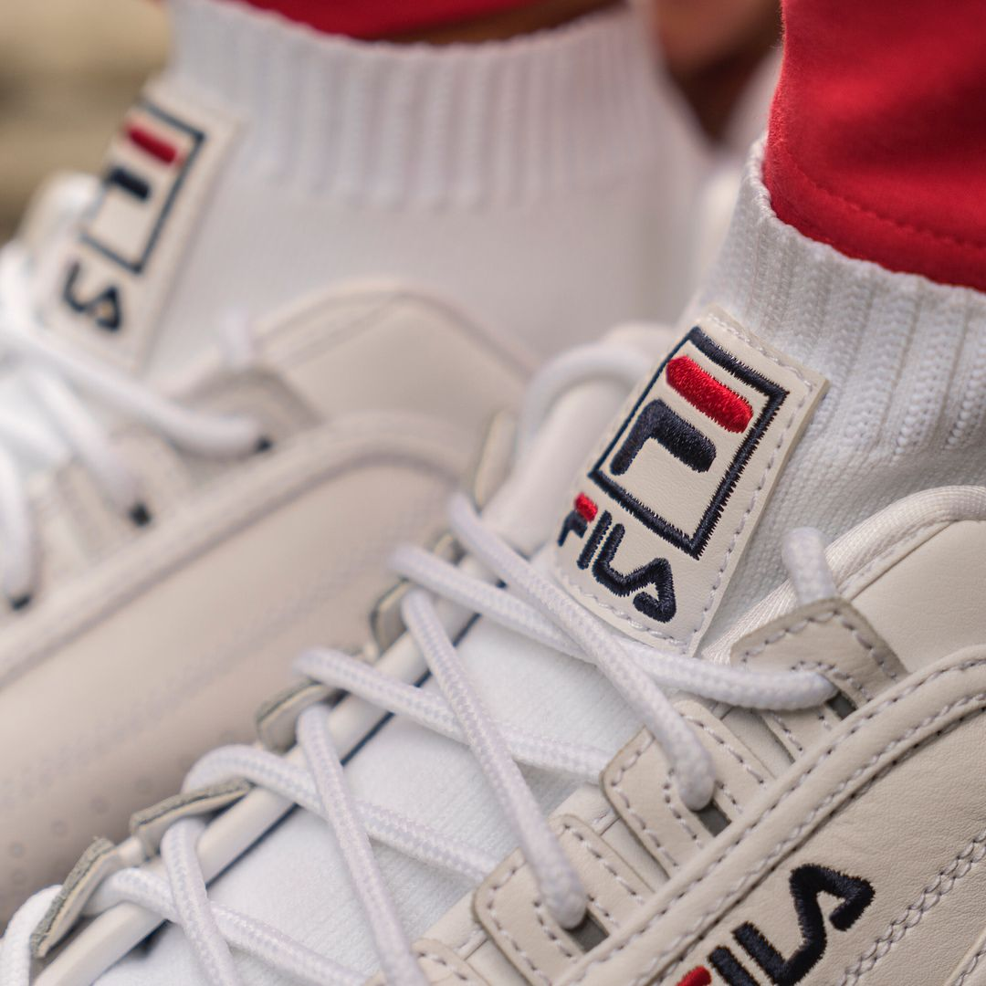 b4e15d8cfd The @FILAUSA women's Disruptor EVO Sockfit is available now on FILA.com.  Retail