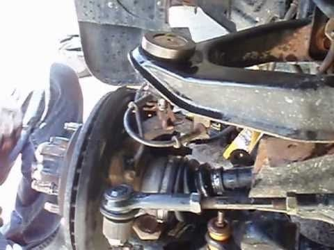 How To Change Upper Ball Joint Moog 2004 Nissan