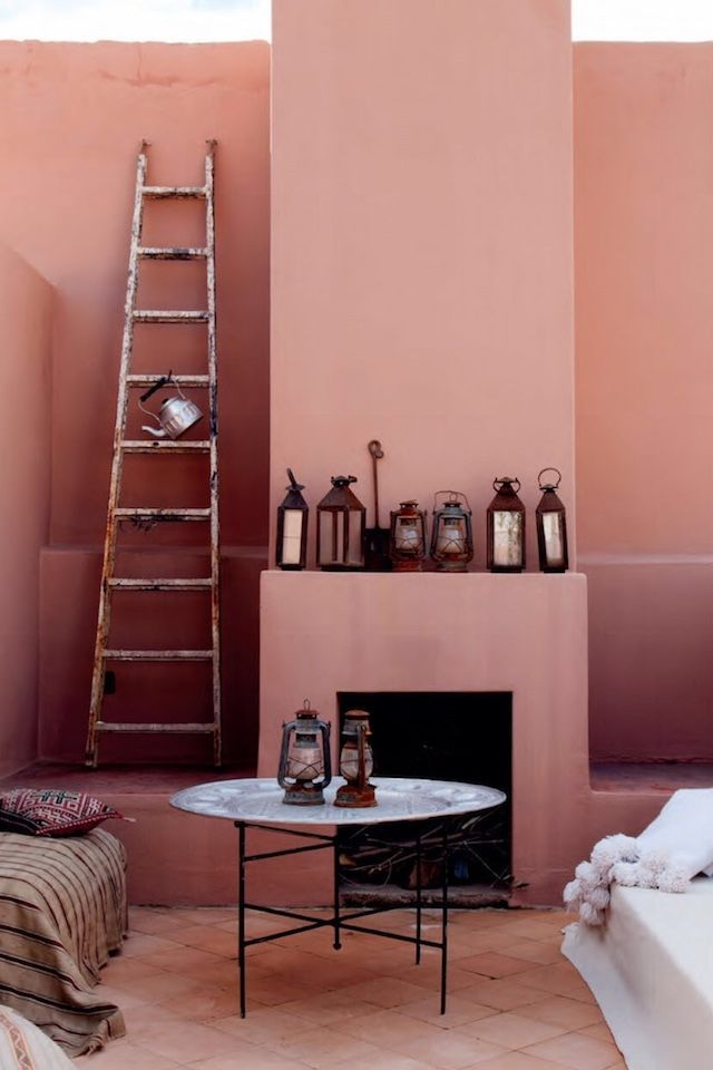 Decoración boho industrial en Marruecos | Marrakech, Interiors and ...