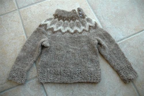 Icelandic Lopi sweater
